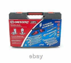 Crescent CTK128MP2N 128-Piece Mechanics Tool Set 2.50 x 31.80 x 18.60 Inches