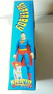 Dc DIRECT Silver Age Superboy and Supergirl Deluxe 6 inch Action Figure Set 2002