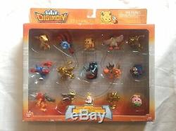 Digimon Data Squad Collectible 1.5-Inch Figures Exclusive Set MINT IN BOX BanDai