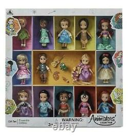 Disney Animators Collection Mini Dolls 5 inch Set 2020 14 Dolls Brand New in Box