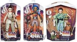 Disney Star Wars Forces Of Destiny Set Lot Of 6 Dolls Figures 11 Inch New In Box