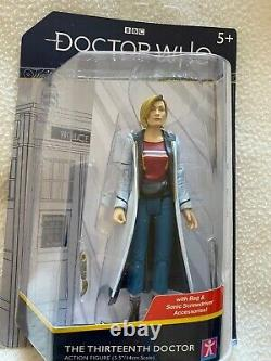 Doctor Who 13th Doctor, Graham, Judoon, Recon Revolution Dalek 5 inch figure Sets