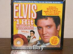 Elvis Presley (23) 7 Inch Singles 45 RPM Box Set Vinyl Factory Sealed Nos