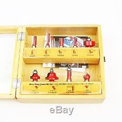 Freud 91-108 9 Piece Basic Bit Set (1/2-inch Shank) with Shadow Box Case