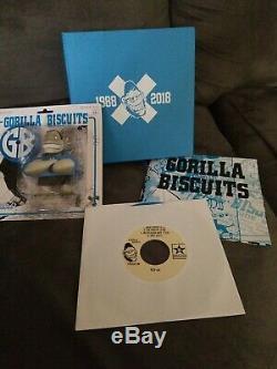 Gorilla Biscuits Blue Box Set 30th Anniversary 7 inch