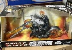 HUGE Box Set 12 inch 1/6 Ultimate Ghost Rider and Flame Cycle BRAND NEW