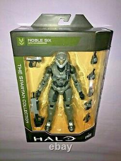 Halo The Spartan Collection Set Of Four 7 Inch Figures Series 3 New