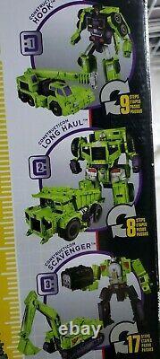 Hasbro B0998 18 inch Transformers Devastator Action Figure Set BOX DAMAGED