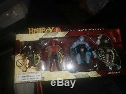 Hellboy 2 The Golden Army Mezco Box Set 3 3/4 inch figure super rare