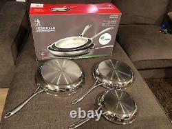 Henckels International 3 piece Set RealClad Fry Pan 8, 10, 12 inch NEW IN BOX