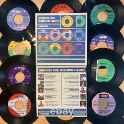 Ian Levine Millennium Box Set 10 x 7 inch Northern & Modern Soul Various x 10 S