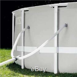 Intex 14 Foot x 42-Inch Prism Frame Swimming Pool Set (Open Box)