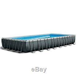 Intex 32 Ft x 16 Ft x 52 Inch Ultra XTR Rectangular Pool Set with Pump (Open Box)