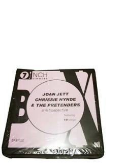 JOAN JETT CHRISSIE HYNDE THE PRETENDERS 7 inch VINYL BOX SET SEALED RARE