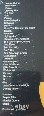 J Dilla Donuts Vinyl 7 inch box set rare Jay Dee 45 RPM boxset 8 x 7 in Sealed