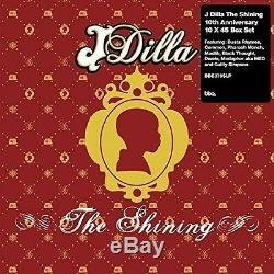 J Dilla The Shining (10x7inch Collection) Box-set 10 Vinyl Lp Single Neu