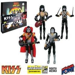KISS Love Gun 3 3/4-Inch Deluxe Box Set Barnes & Noble SDCC B&N LE 1700