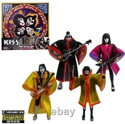 KISS Rock and Roll Over 3 3/4-Inch Action Figure Deluxe Box Set Convention Exc