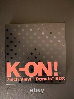 K-ON 7inch Vinyl Donuts BOX Analog Record Set Limited Edition