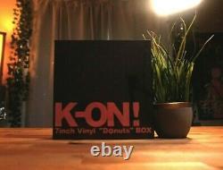 K-ON 7inch Vinyl Donuts BOX Analog Record Set Limited Edition Japan 1 DAY SHIP