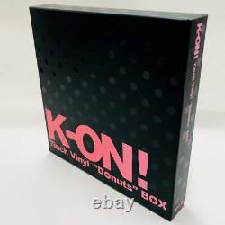 K-ON 7inch Vinyl Donuts BOX Analog Record Set Limited Edition Japan Anime Girls
