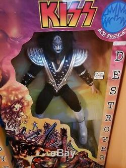 Kiss Destroyer 24 inch doll set. Rare first edition. Mint in unopened boxes