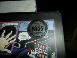 Kiss Unmasked Deluxe Box Set # 2 3 3/4 Inch Action Convention Exclusive
