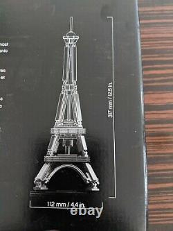 LEGO 21019 Architecture Eiffel Tower Retired Set 12 Inches Tall FACTORY SEALED