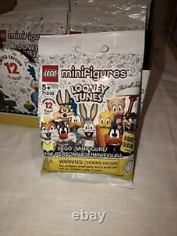 LEGO 71030 Looney Tunes Minifigures 4 Boxes 96 Packs NEW SEALED FREE SHIPPING