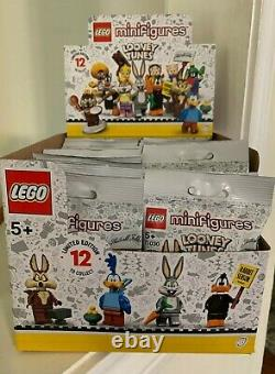 Lego 71030 Looney Tunes Collectible Minifigures Box Case of 36 Bags
