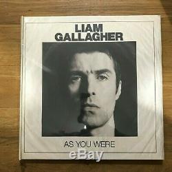 Liam Gallagher As You Were Deluxe White Vinyl Album & 7 Inch LP CD Box Set