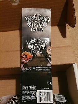 Living Dead Dolls LDD Full Set Series 1 2 Inch Figurines Mezco Boxed