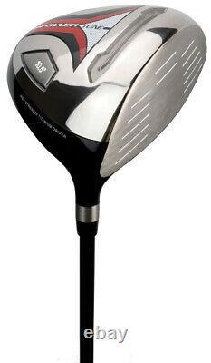 Lynx Powertune Boxed Golf Set 1,3 Wood, 4 Hybrid, 5-Sw, Putter & Bag R/H + 1 Inch