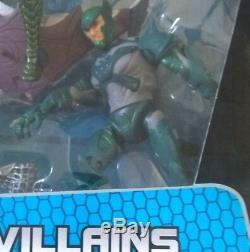 MARVEL Rare Spiderman Video Villains 6 inch Figures box set Lizard Rhino Goblin