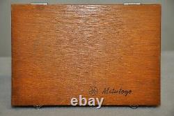 MITUTOYO 0-4 Inch DEPTH MICROMETER SET NO 129-127 with BOX Excellent Condition