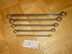 Mac Tools 5 Piece Sae. Box-end Wrench Set 12 Point 3/8 To 1 Inch