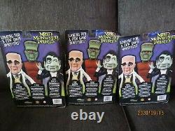 Mad Monster Party 3 Figure Set 7 Inch Figures Baron Fang The Count 2012
