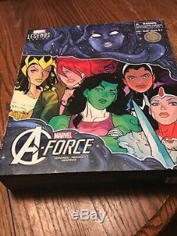 Marvel Legends 6 Inch A-Force TRU Exclusive Box Set