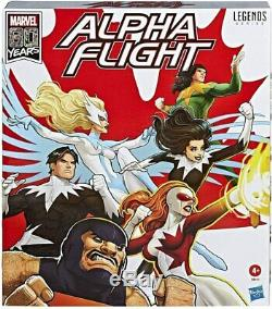 Marvel Legends 6 Inch Action Figure 80th Anniversary Box Set Alpha Flight