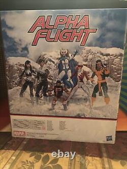 Marvel Legends 6 Inch Action Figure 80th Anniversary Box Set Alpha Flight