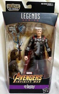 Marvel Legends Avengers Infinity War Wave Cull Obsidian Baf 6-Inch Figure Set