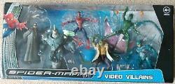 Marvel Legends Spiderman Video Villains Box set Green Goblin Rhino 6 inch figure