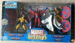 Marvel Legends X-MEN Box Set Wolverine Rogue Beast Gambit 6 inch scaled figure