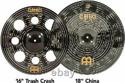 Meinl Cymbals Expanded Cymbal Set Box Pack Classics Custom Dark Made In DE