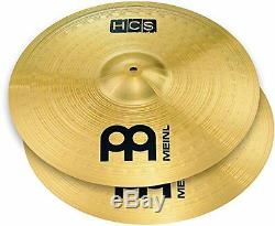 Meinl Cymbals HCS1418+14C HCS Cymbal Box Set Pack with 14-inch Hi Hat Pair 18