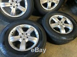 Mercedes Benz Oem Gl450 Ml350 Ml500 Front Rear Set Rim Wheel And Tire 18 Inch