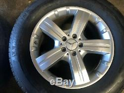 Mercedes Benz Oem Gl450 Ml350 Ml500 Front Rear Set Rim Wheel And Tire 18 Inch #2