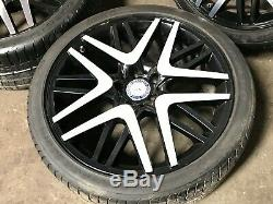 Mercedes Benz Oem W221 S550 Cl63 S63 Cl550 Front Rear Rim Wheel And Tire Set 20