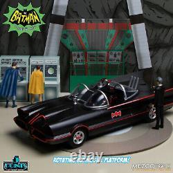 Mezco Batman (1966) Deluxe Boxed Set 5 POINTS 3.75 inch figures PRESALE