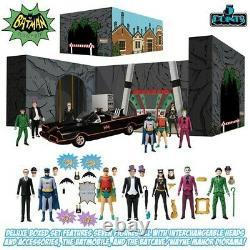 Mezco Batman (1966) Deluxe Boxed Set 5 POINTS 3.75 inch figures PRE SALE March 5